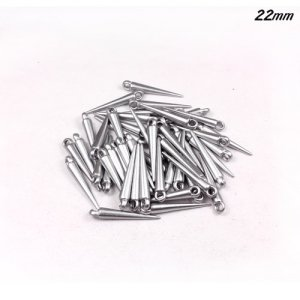 Basketball Wives Spikes Acrylic silver 22mm 50 PCS