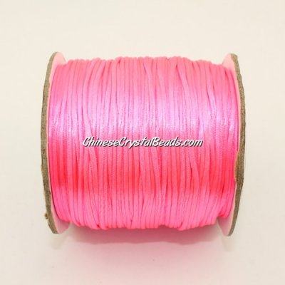 1.5mm Satin Rattail Cord thread, #40, 80Yard spool
