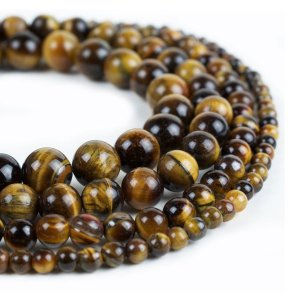 Cheap Tigers eye gemstone Beads 4mm 6mm 8mm 10mm 12mm 14mm Round 15 Inch