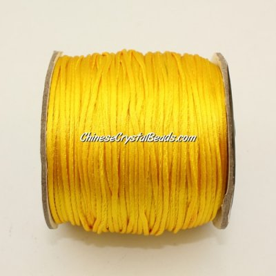 1.5mm Satin Rattail Cord thread, #25, 80Yard spool