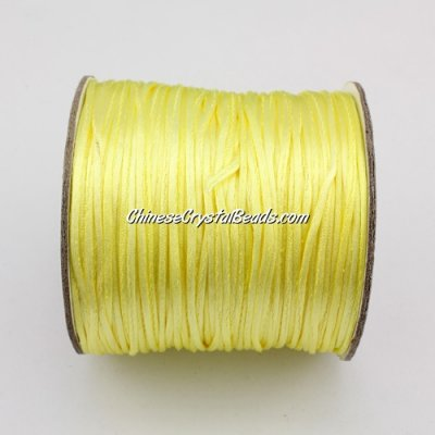 1.5mm Satin Rattail Cord thread, #26, 80Yard spool
