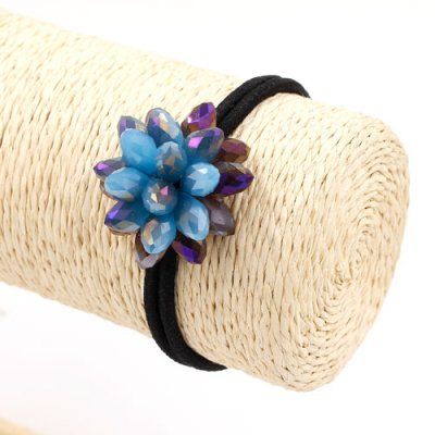 3D beading crystal flower Hair Band, 02, 1 pc