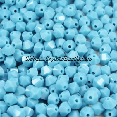 50pcs Austria Crystal 4mm xilion bead(5328), turquoise(267), AAA quality