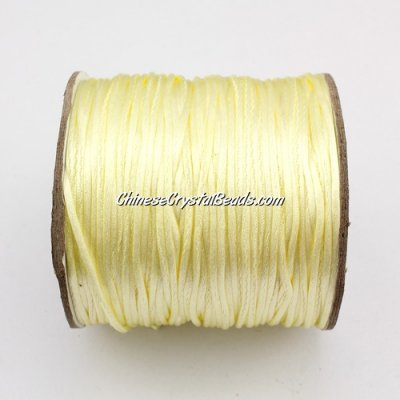 1.5mm Satin Rattail Cord thread, #27, 80Yard spool