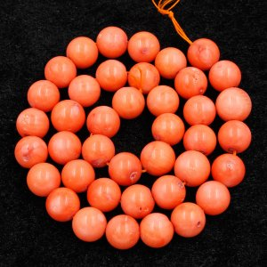 Pink Natural Round Coral Beads 4mm 6mm 8mm 10mm Length:15 Inch