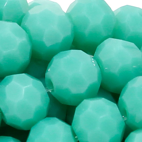 Crystal round bead strand, 4mm, opaque #124, about 100pcs