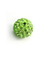 10mm pave disco beads