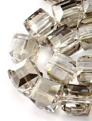 10mm Cube Crystal beads