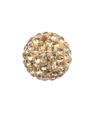12mm pave disco beads