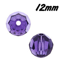 12mm Round Crystal