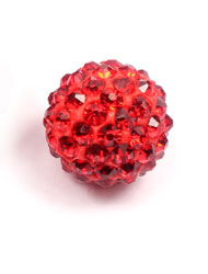 14mm pave disco beads