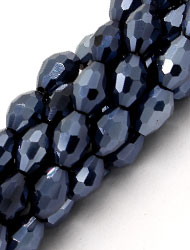 6x9mm crystal barrel beads