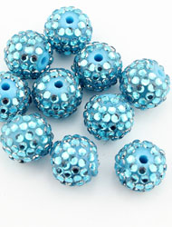 Resin Pave Beads