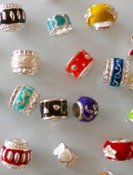 Alloy European Beads