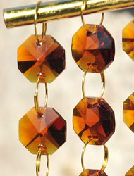 Crystal Octagon beads