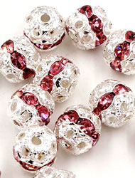 Round Ball Spacer Beads
