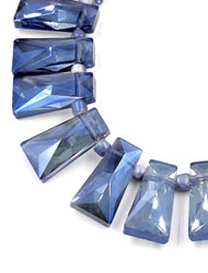 Trapezium Crystal Beads