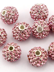 Alloy Pave Beads