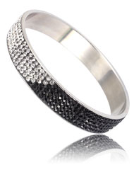 stainless steel solid bracelet