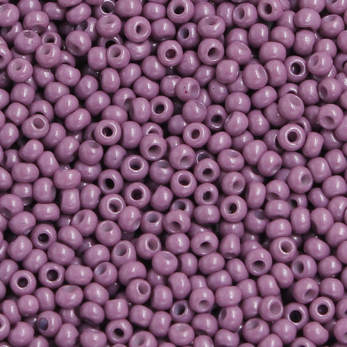1.8mm AAA round seed beads 13/0, purple, #MX4, approx. 30 gram bag