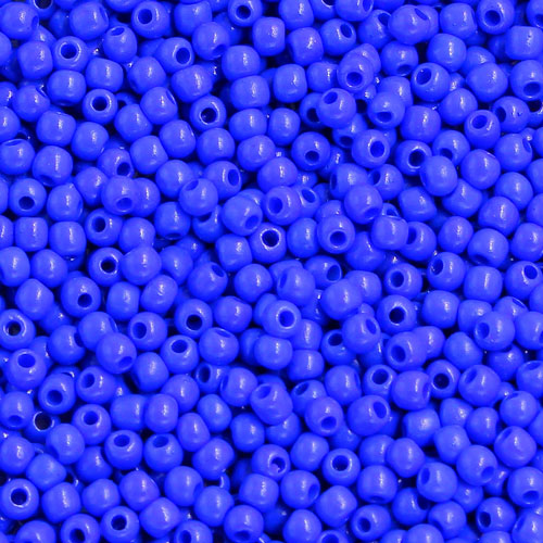 1.8mm AAA round seed beads 13/0, sapphire, #MX8, approx. 30 gram bag