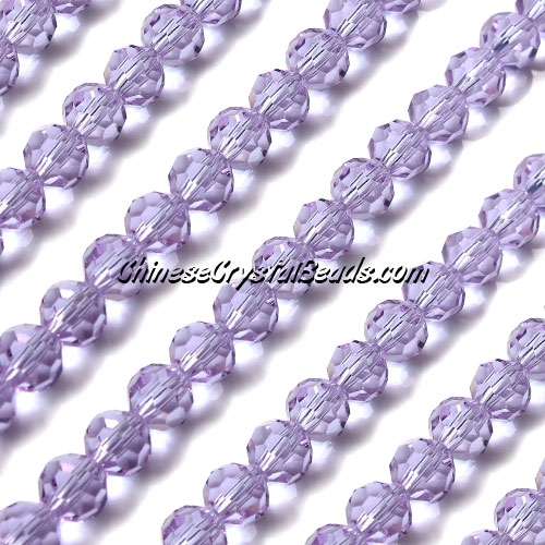 Chinese Crystal 6mm Round Strand, Alexandrite , about 50 beads