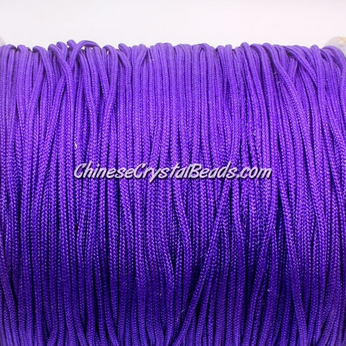 1.5mm nylon cord, Amethyst(#675), Pave string unite, (Sold by the meter)