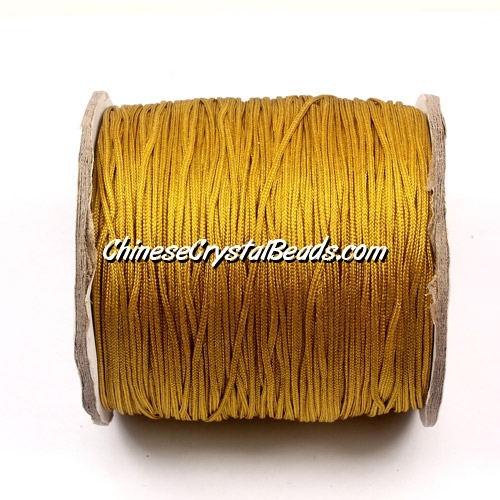 Nylon Thread 0.8mm, #110, Khaki, sold per 130 meter bobbin