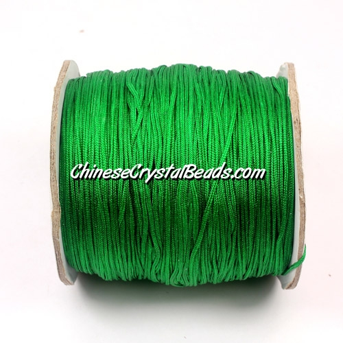 Nylon Thread 0.8mm, #116, green, sold per 130 meter bobbin