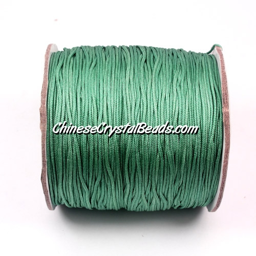 Nylon Thread 0.8mm, #118,Cyan Blue , sold per 130 meter bobbin