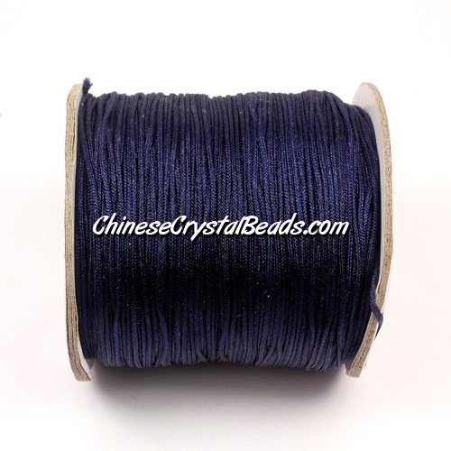Nylon Thread 0.8mm, #149, Midnight Blue, sold per 130 meter bobbin