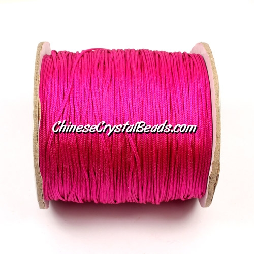 Nylon Thread 0.8mm, #171, Fuchsia, sold per 130 meter bobbin