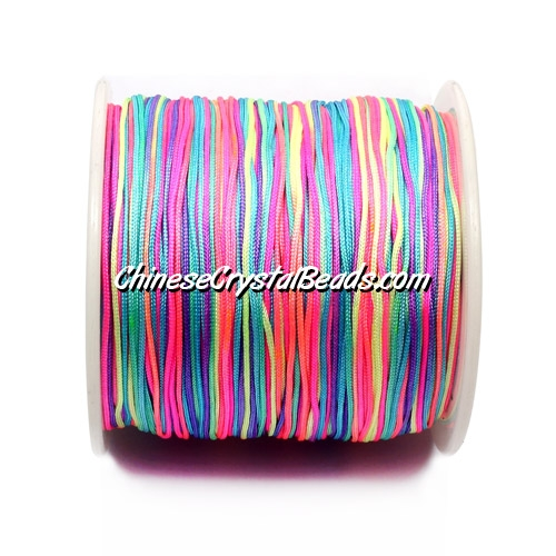 Nylon Thread 0.8mm, mix color , sold per 130 meter bobbin