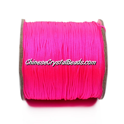 Nylon Thread 0.8mm, #136, fuchsia (neon color), sold per 130 meter bobbin