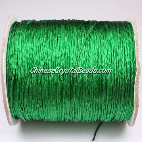 thick about 1mm, nylon string, fern green, (Sold by the meter)