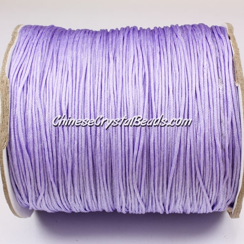 thick about 1mm, nylon string, lt-violet, (Sold by the meter)