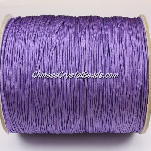 thick about 1mm, nylon string, Mauve, (Sold by the meter)