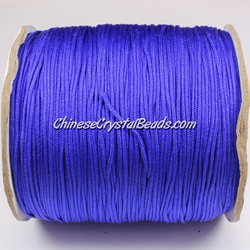 thick about 1mm, nylon string, wisteria, (Sold by the meter)