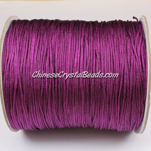 thick about 1mm, nylon string, violet, (Sold by the meter)