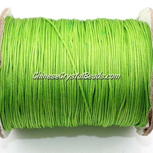 thick about 1mm, nylon string, Olive-green, (Sold by the meter)