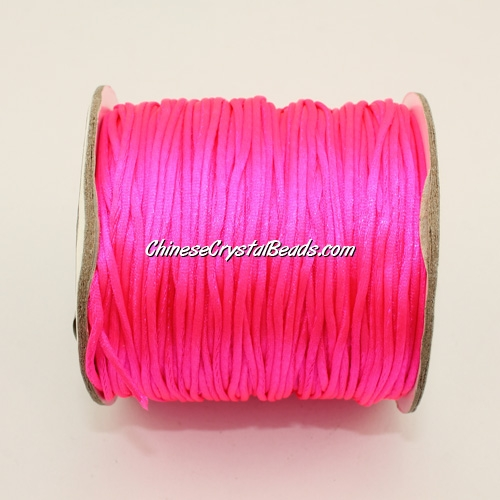 1.5mm Satin Rattail Cord thread, #39, 80Yard spool