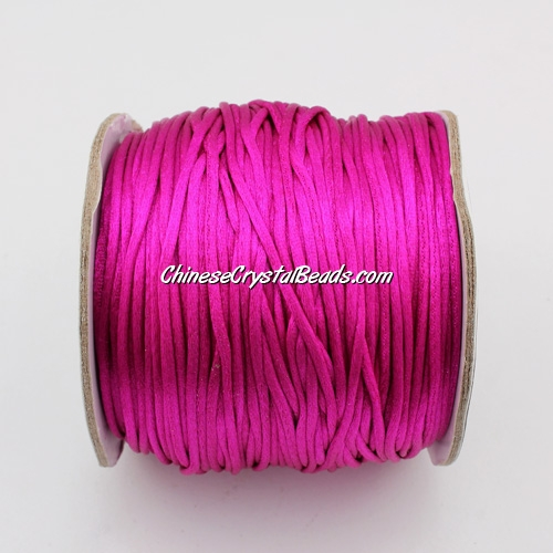1.5mm Satin Rattail Cord thread, #38, 80Yard spool