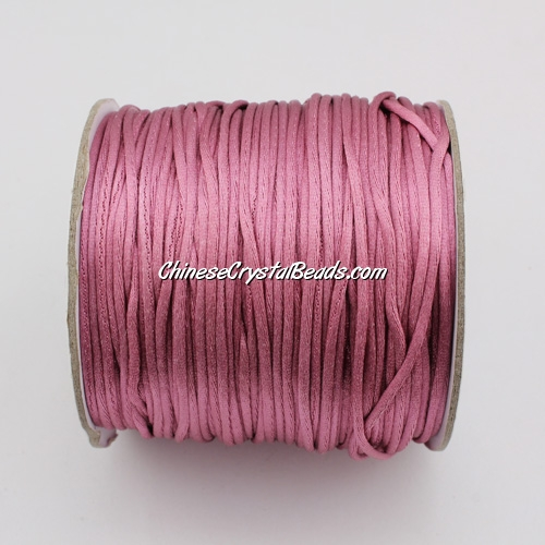 1.5mm Satin Rattail Cord thread, #35, 80Yard spool
