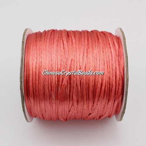 1.5mm Satin Rattail Cord thread, #32, 80Yard spool
