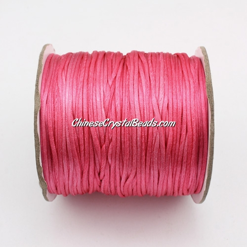 1.5mm Satin Rattail Cord thread, #31, 80Yard spool