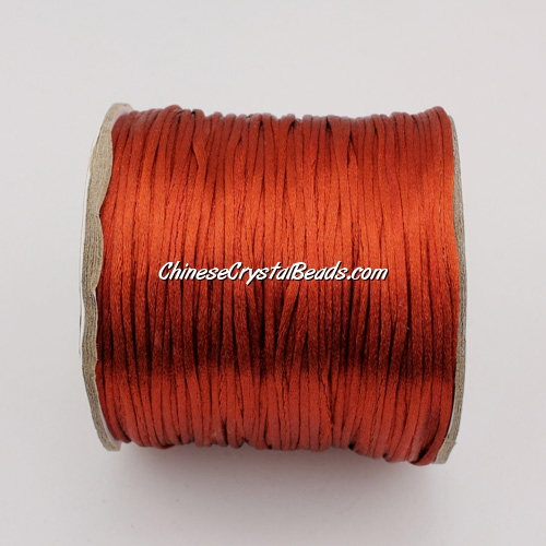 1.5mm Satin Rattail Cord thread, #17, 80Yard spool