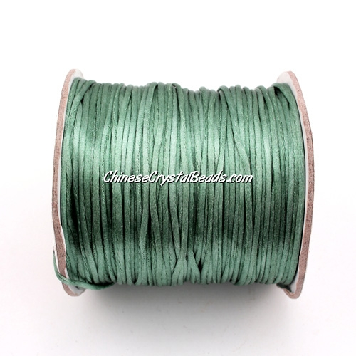1.5mm Satin Rattail Cord thread, #16, 80Yard spool