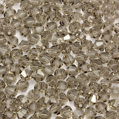 720pcs Chinese Crystal 4mm Bicone Beads, smoke, AAA quality