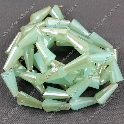 20pcs Chinese Artemis crystal beads strand, 8x15mm, #013