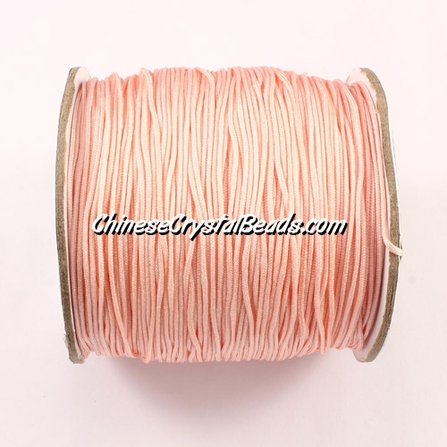 Nylon Thread 0.8mm, #104, peach, sold per 130 meter bobbin